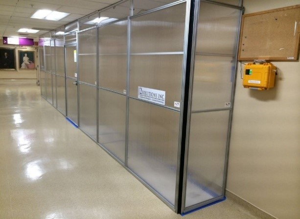 Edge Guard Package 6000 8 X2 Anteroom Type Enclosure